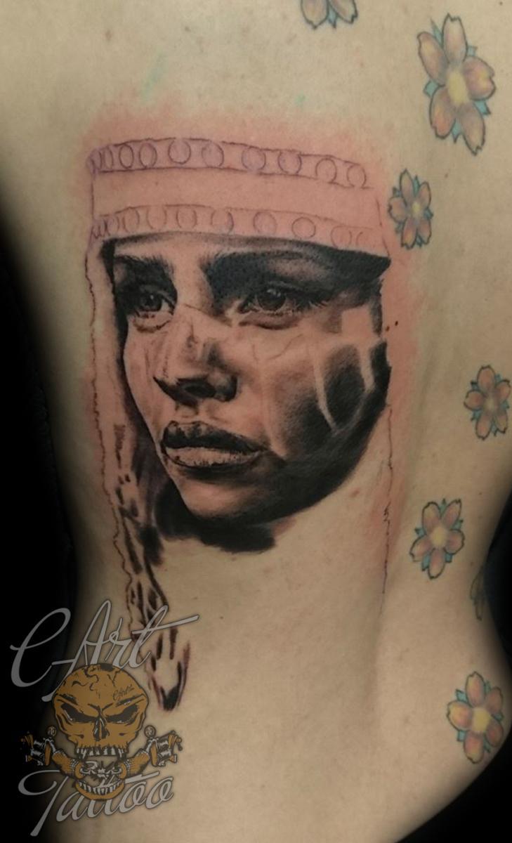 9ed86146f ... Squaw Portrait Tattoos ...