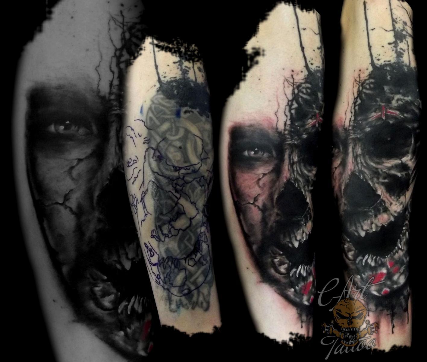 cover up c art tattoo. Black Bedroom Furniture Sets. Home Design Ideas
